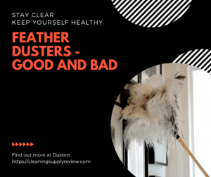 Feather Dusters - Good and Bad