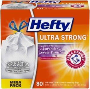 Hefty Ultra Strong Tall Kitchen Trash Bags