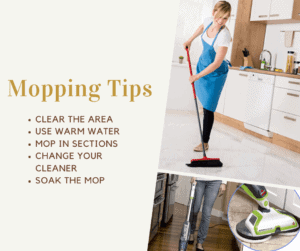 Mopping Tips