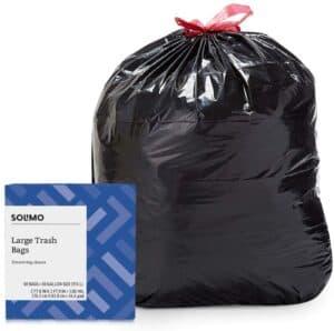 Solimo Multipurpose Drawstring Trash Bags