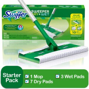 Swiffer Sweeper Cleaner Dry and Wet Mop