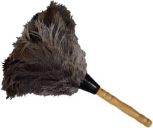 Tri-Secure Feather Duster-Gray Feathers