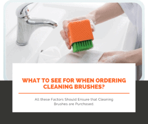 What to see for when ordering cleaning brushes