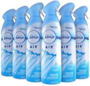Febreze Air Freshener and Odor Spray, Linen & Sky Scent