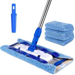 MR.SIGA Professional Microfiber Mop for Hardwood