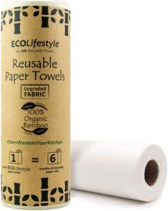 Bamboo Reusable Paper Towels