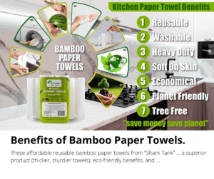 Benefits of Bamboo Paper Towels