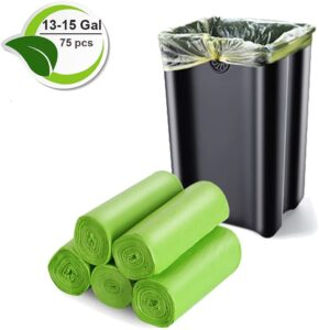 Biodegradable Trash Bags, 13-15 Gallon