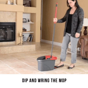 Dip and Wring the Mop