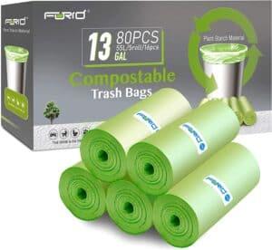 FORID 13 Gallon Compostable Trash Bags