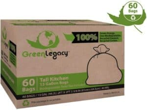 Green Legacy Tall Kitchen Trash Bags