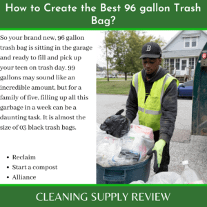 How to Create the Best 96 gallon Trash Bag_