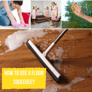 How to Use a Floor Squeegee_