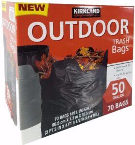 Kirkland Signature Outdoor Trash Bags