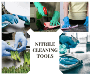 Nitrile Cleaning Tools