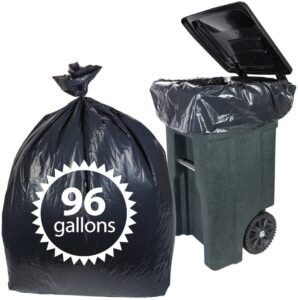 Primode Toter 96 Gallon Trash Bags