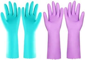 Reusable Dishwashing Cleaning Gloves