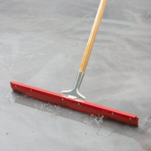 Single Blade Red Gum Rubber Squeegee