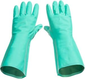 Tusko Nitrile Rubber Dishwashing Gloves